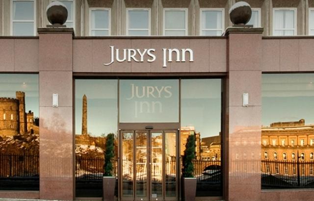 Jurys Inn Edinburgh Car Park